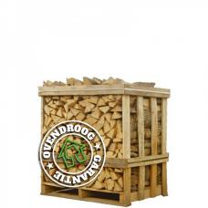 Berken haardhout | halve pallet (ca.120x80x120cm) | bloklengte 25cm | ca.500 blokken