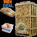 Haagbeuk | hot deal (ca.120x80x210cm) | aanmaakhout | aanmaakblokjes